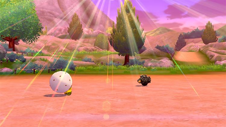 Sunny Day move in Pokemon Shield