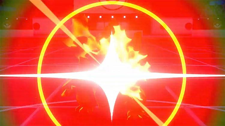 Burn Up / Pokémon SWSH move screenshot
