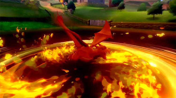Blast Burn from Charizard / Pokémon move
