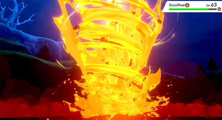 Magma Storm / Pokémon Sword and Shield move