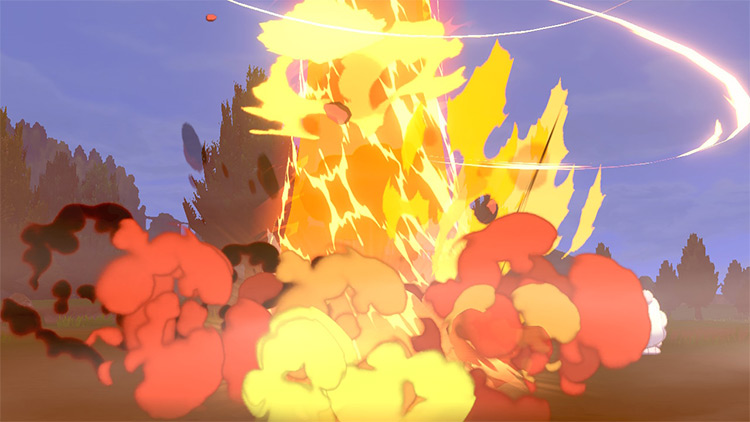 Eruption / Pokémon Sword and Shield