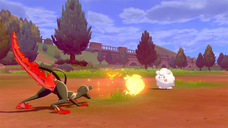 Incinerate / Pokémon fire move