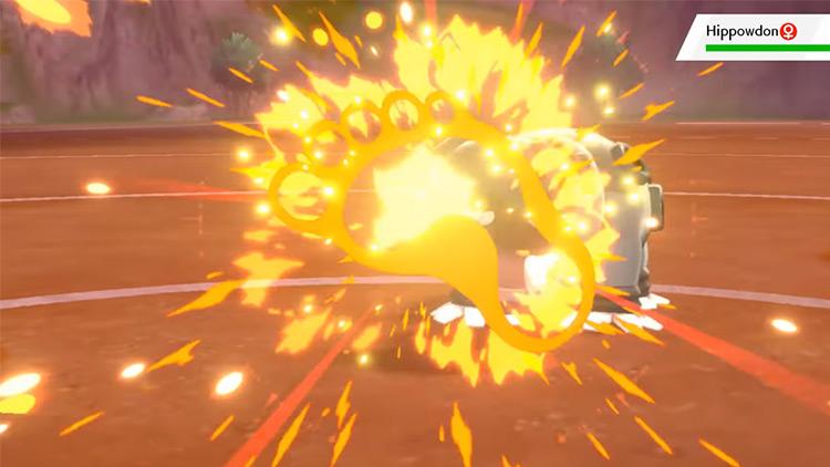 Blaze Kick / Pokémon Sword and Shield move