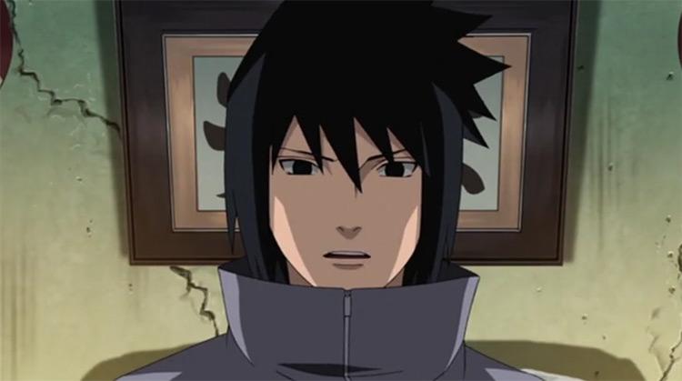 Sasuke Uchiha in Naruto Shippuden anime