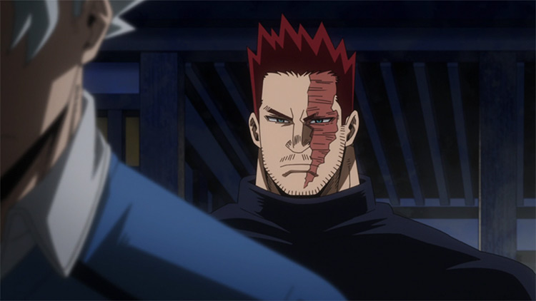 Endeavor from My Hero Academia anime
