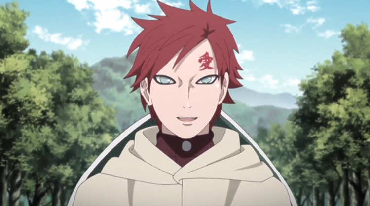Gaara from Naruto Shippuden anime