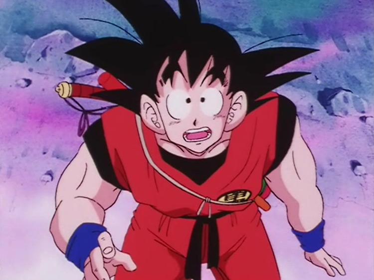 Goku from Dragon Ball anime