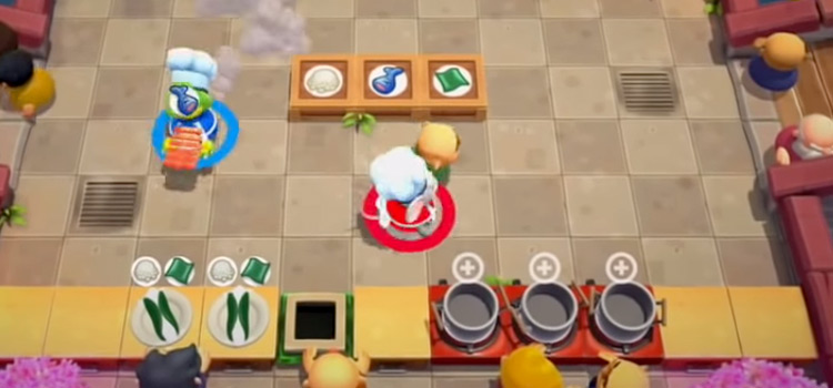 Overcooked 2 Co-Op Multiplayer Gameplay / XBOX One