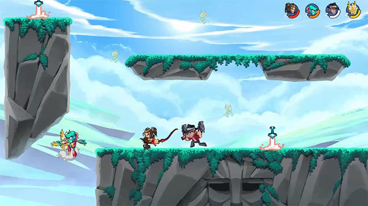 Brawlhalla / Xbox One gameplay