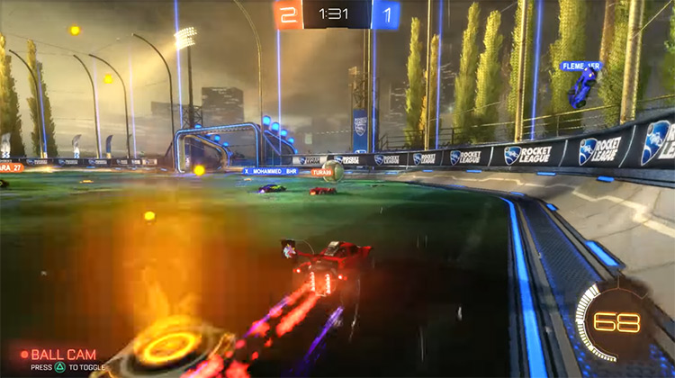 Rocket League / Xbox One gameplay