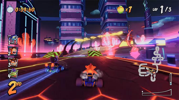 Crash Team Racing: Nitro-Fueled / Xbox One gameplay