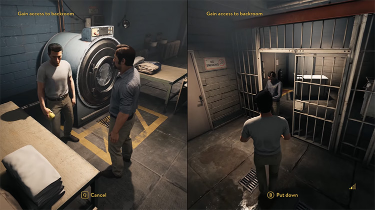 A Way Out / Xbox One gameplay