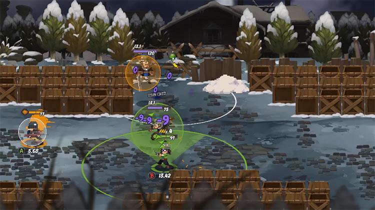 Full Metal Furies gameplay