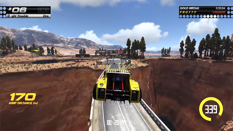 Trackmania Turbo XBOne gameplay