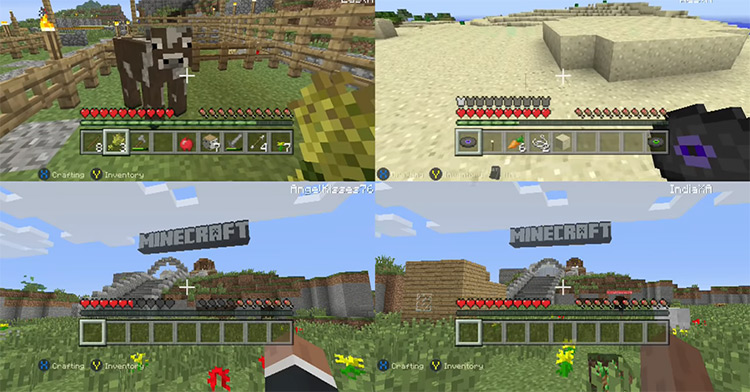 Minecraft: Xbox One Edition gameplay