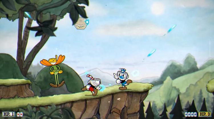 Cuphead XBOne gameplay screenshot