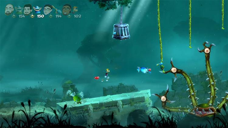 Rayman Legends / Xbox One gameplay