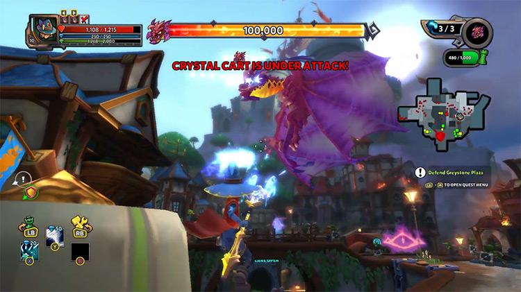 Dungeon Defenders 2 game screenshot