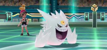Shiny form of Mega Gengar in Pokemon