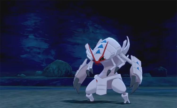 Shiny Golisopod in Pokémon Sword and Shield