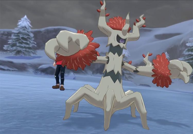Shiny Trevenant from Pokémon Sw/Sh