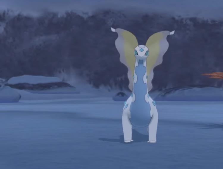 Shiny Aurorus Screenshot