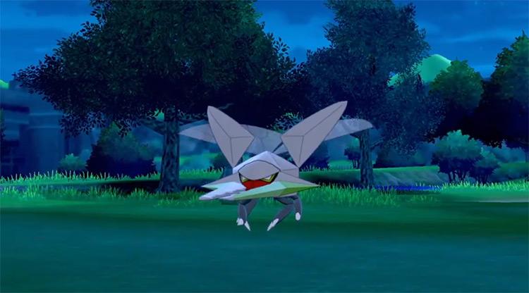 Shiny Vikavolt from Pokémon Sword/Shield
