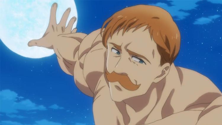 Escanor The Seven Deadly Sins anime screenshot
