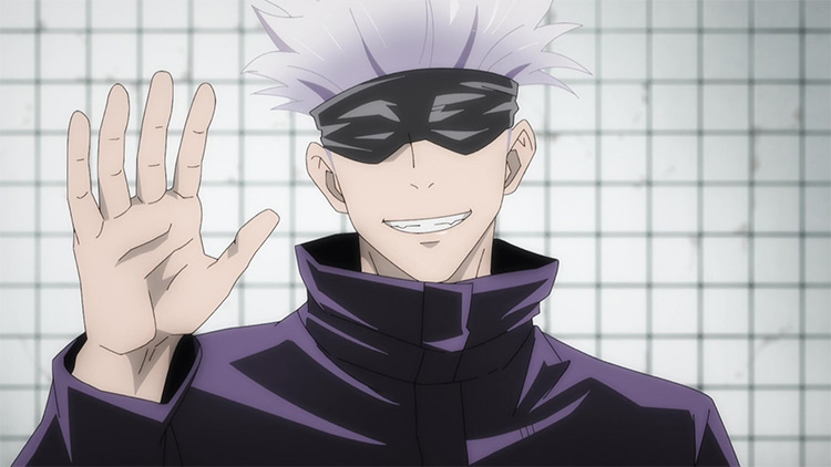 Satoru Gojou from Jujutsu Kaisen anime