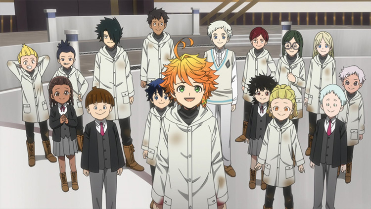 Everyone from The Promised Neverland Season 2