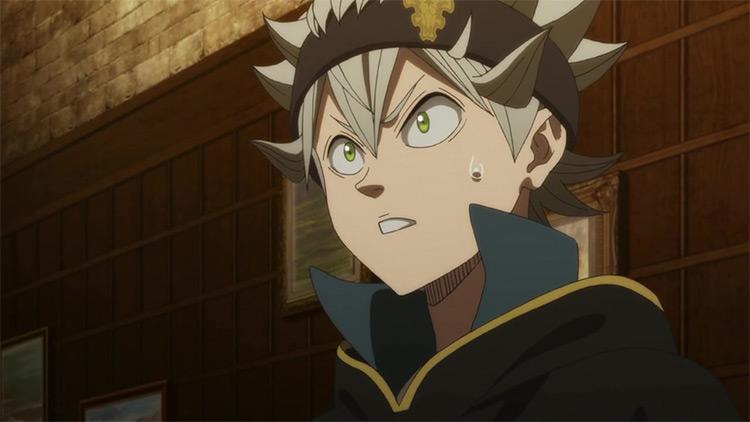 Asta in Black Clover anime