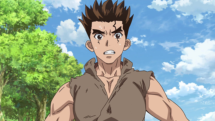 Taiju Oki Dr. Stone anime screenshot
