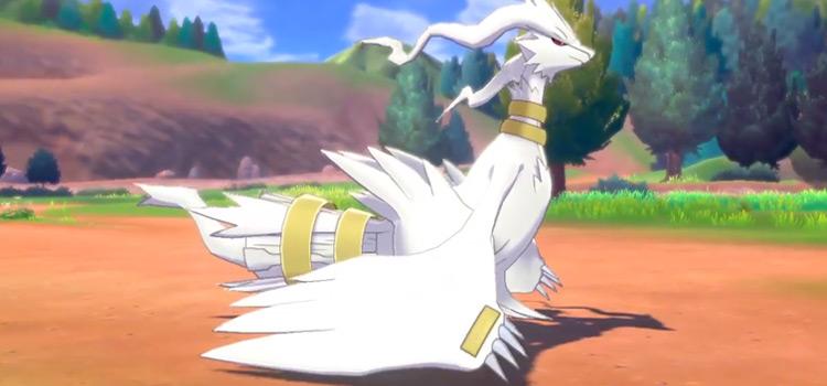Shiny Reshiram in Pokémon Ultra Sun