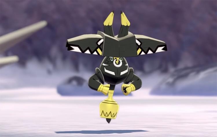Shiny Tapu Bulu in Pokémon Sw/Sh