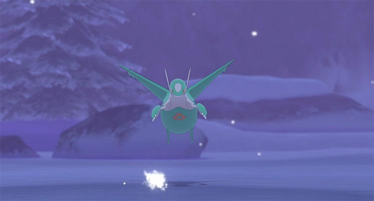 Shiny Latios in Pokemon Sw/Sh