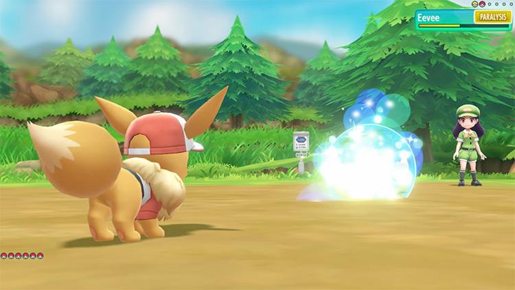 Bouncy Bubble move in Pokémon: Let's Go, Pikachu!