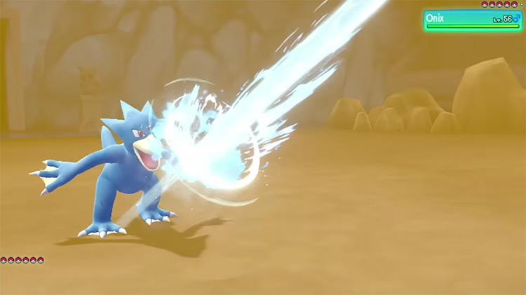 Scald move in Pokémon: Let's Go, Eevee!