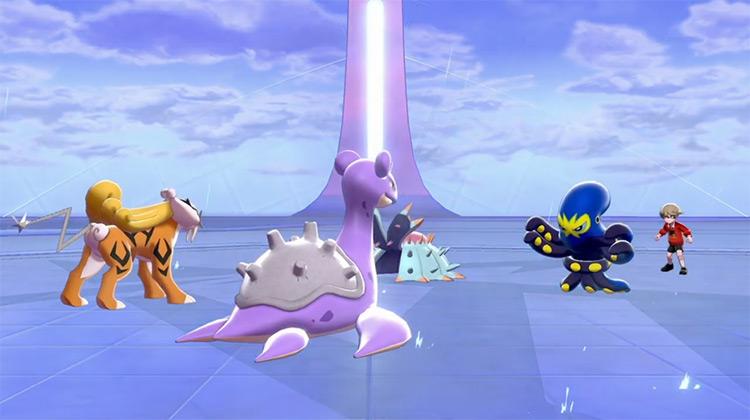 Rain Dance move in Pokémon Sword/Shield