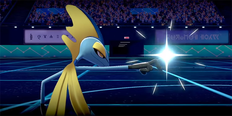 Snipe Shot move / Pokémon Sword and Shield