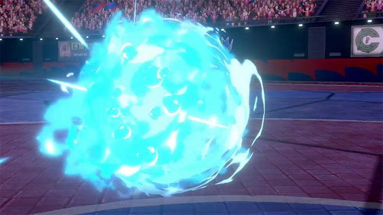 Aqua Jet move in Pokémon SWSH