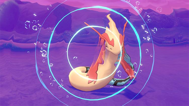 Aqua Ring move in Pokémon Sword and Shield