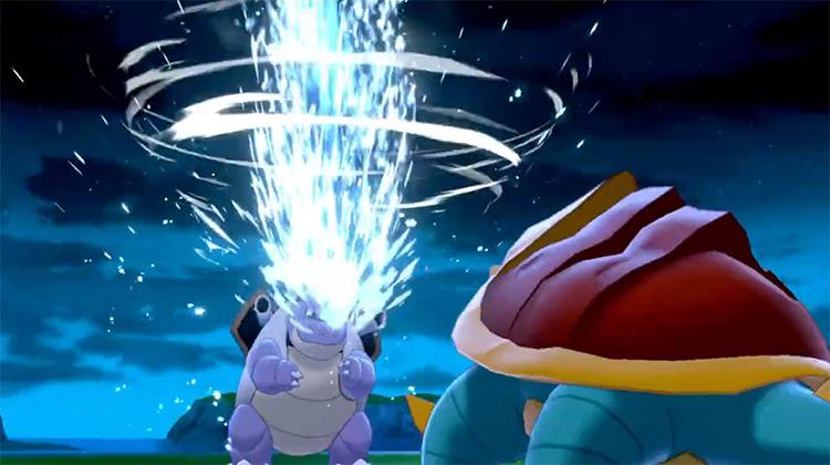 Water Spout / Pokémon Sword and Shield move