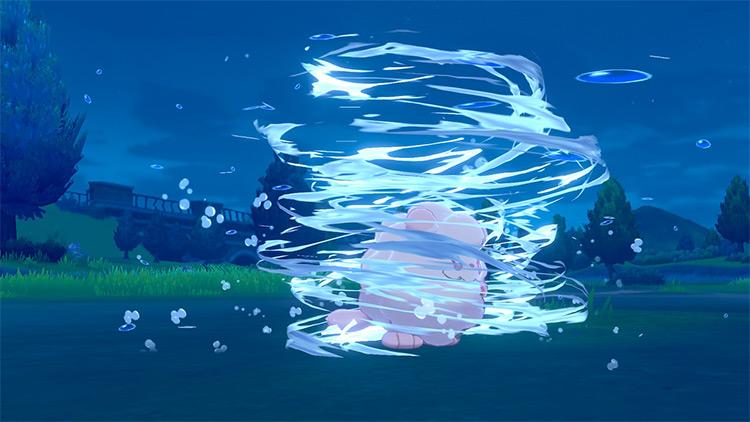 Whirlpool in Pokémon Sword and Shield