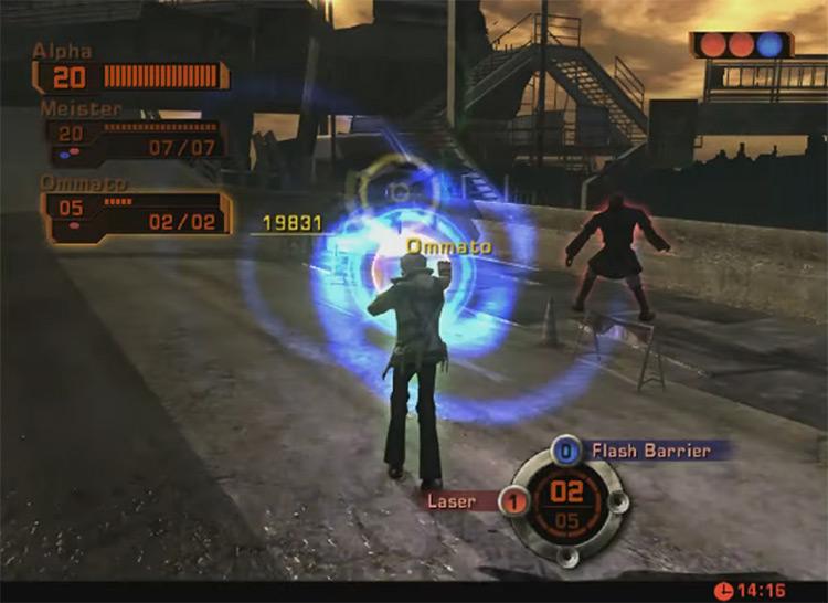 Phantom Dust Xbox gameplay