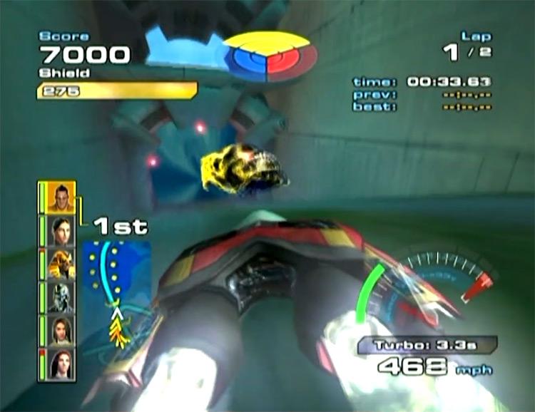 Quantum Redshift game screenshot