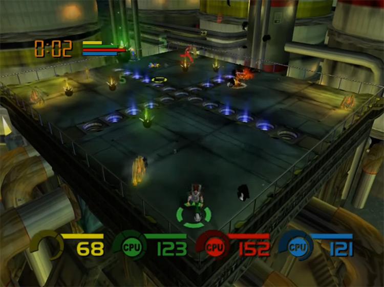 Fuzion Frenzy Xbox gameplay