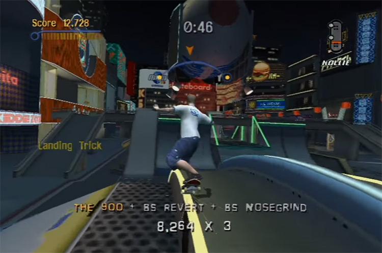 Tony Hawk's Pro Skater 3 screenshot