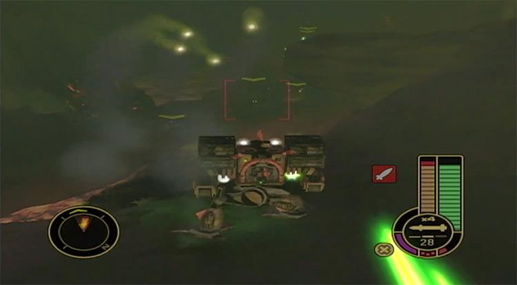 MechAssault Xbox game screenshot