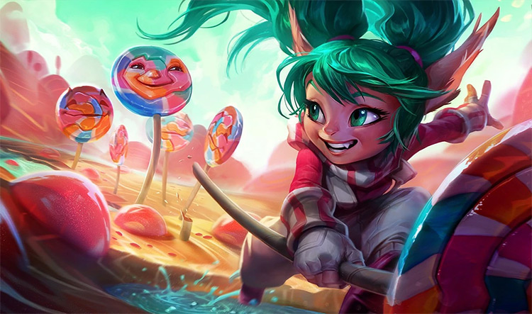 Lollipoppy Skin Splash Preview