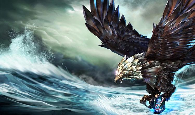 Bird of Prey Anivia Skin Splash